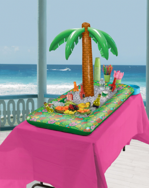 Inflatable Tropical Palm Cooler